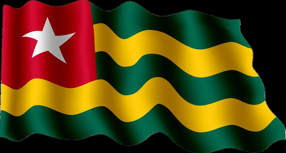 Flag, Togo, Africa - Togo PNG
