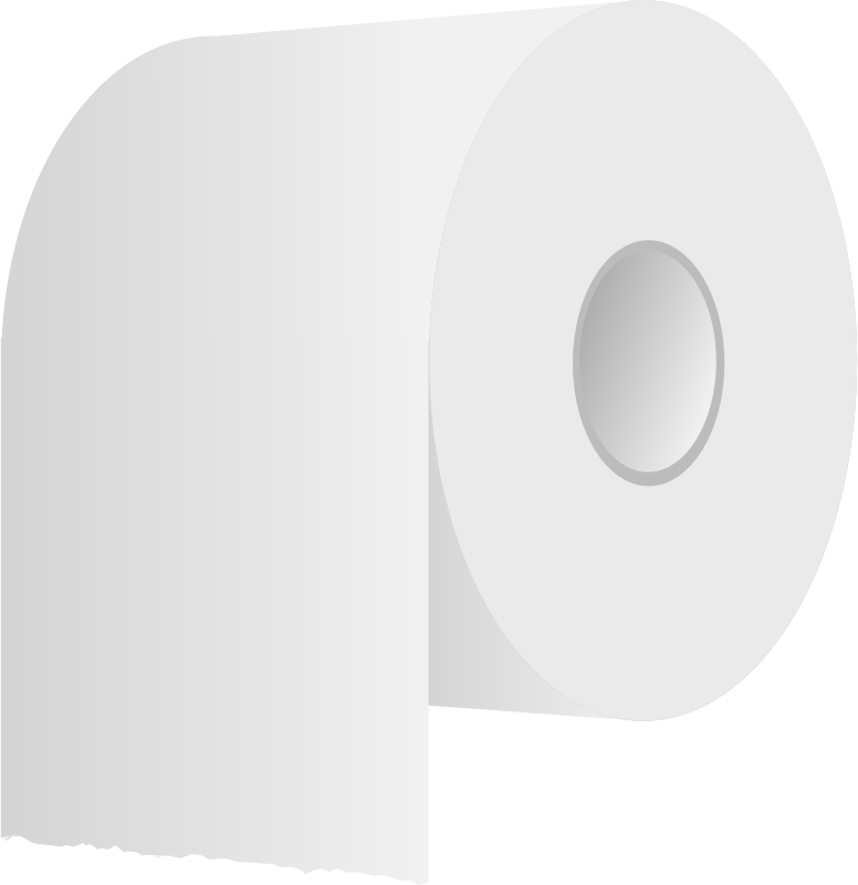 Toilet Roll PNG HD