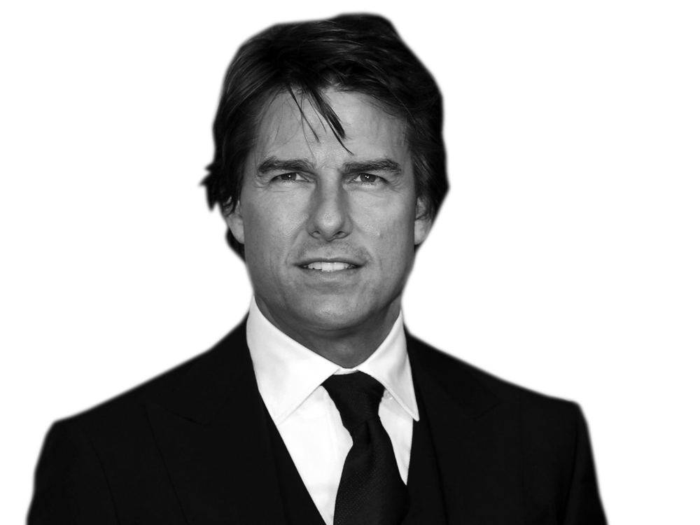 Tom Cruise PNG-PlusPNG.com-1000 - Tom Cruise PNG