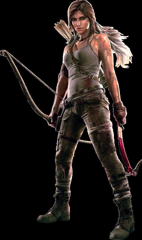 Tomb Raider Render-1 by RajivCR7 PlusPng.com  - Tomb Raider PNG