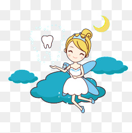 Tooth fairy, Cartoon, Tooth, Dentist PNG and Vector - Tooth Fairy PNG HD