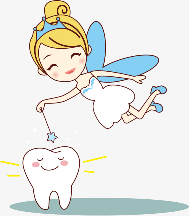 Vector painted small tooth fairy, Vector, Hand Painted, Little Tooth Fairy  Free PNG and Vector - Tooth Fairy PNG HD