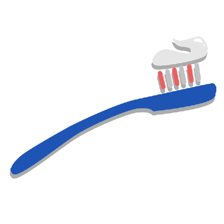 Toothbrush, Clipart, Sticker, Tooth, Brush - Toothbrush HD PNG