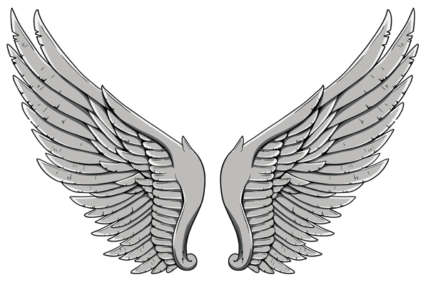 Top Wings Tattoos PNG Images - Wings Tattoos PNG