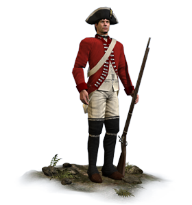 33rd Foot - Total War PNG