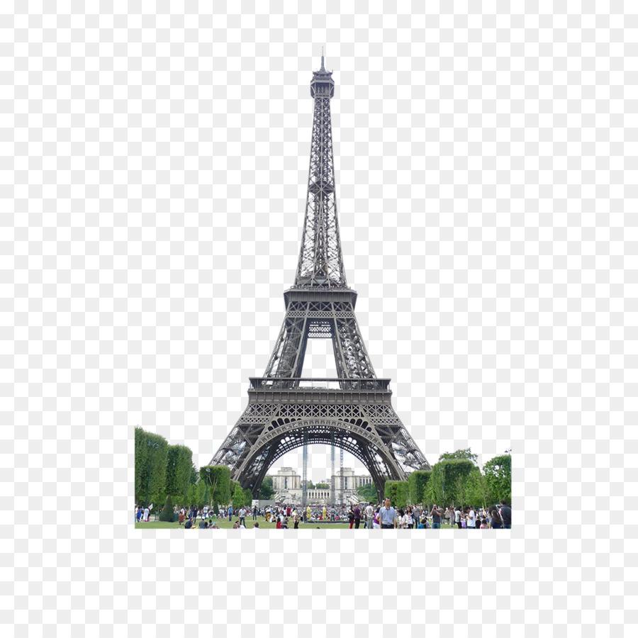Eiffel Tower Arc de Triomphe Champ de Mars 58 Tour Eiffel - Eiffel Tower,  Paris, France clip buckle Free - Tour Eiffel PNG