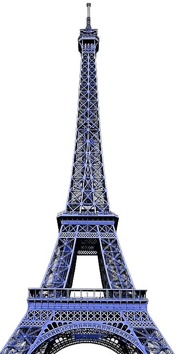 Tour Eiffel PNG - 152411