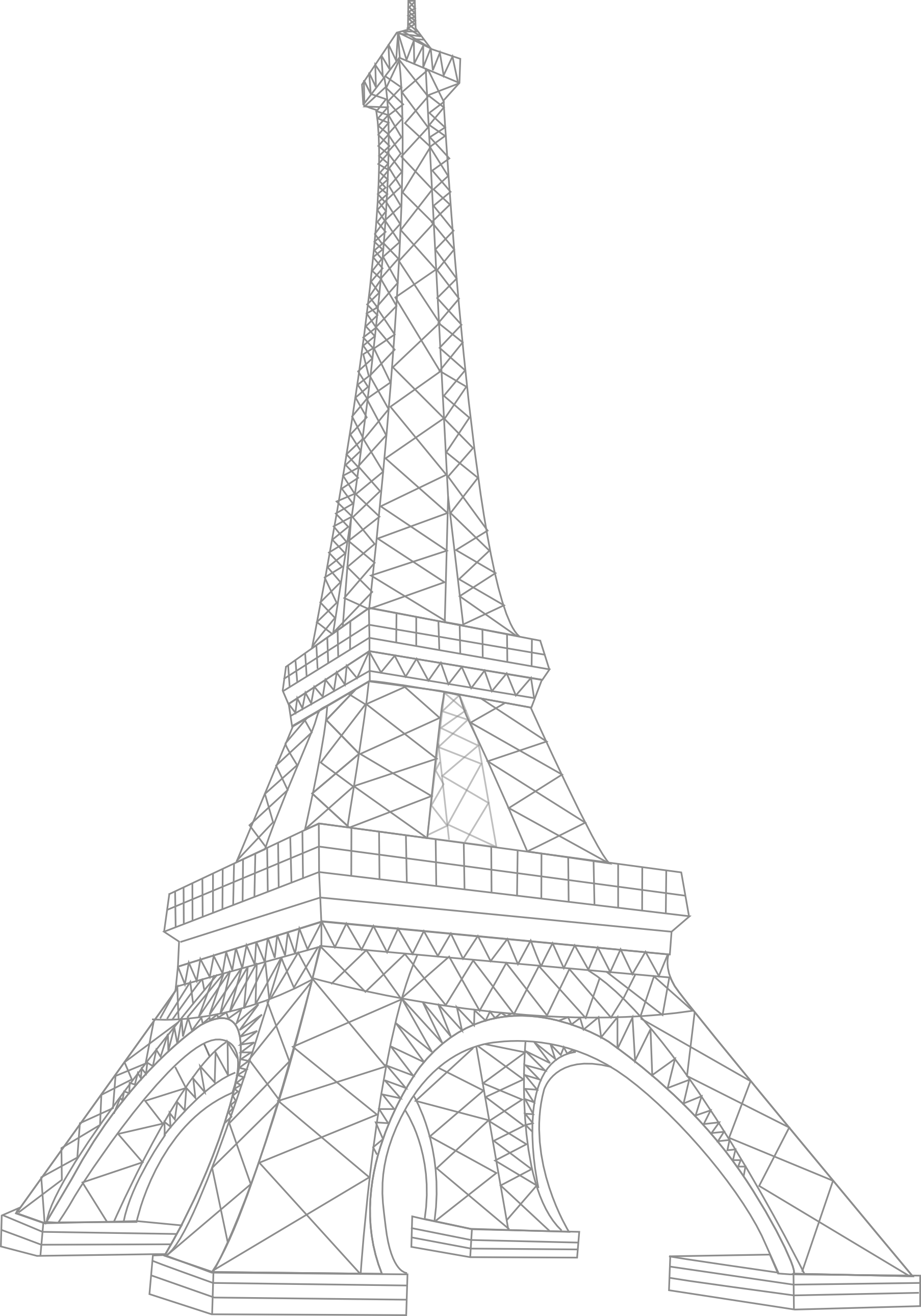 Tour Eiffel PNG - 152412
