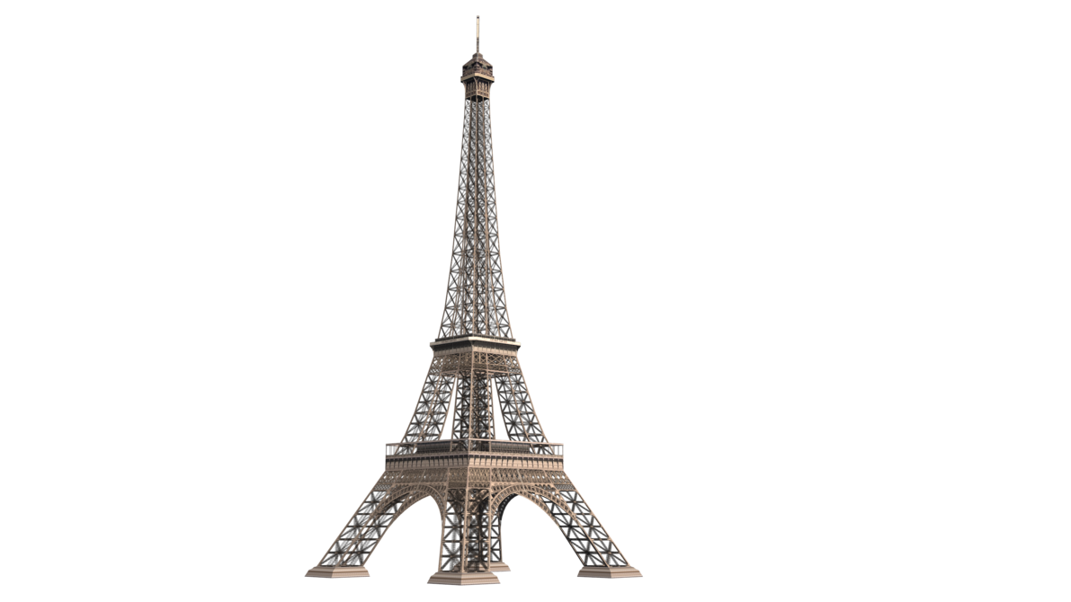 tour Eiffel 01 by coolzero2a PlusPng.com  - Tour Eiffel PNG