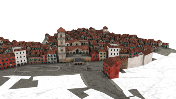 Town Background PNG - 162752