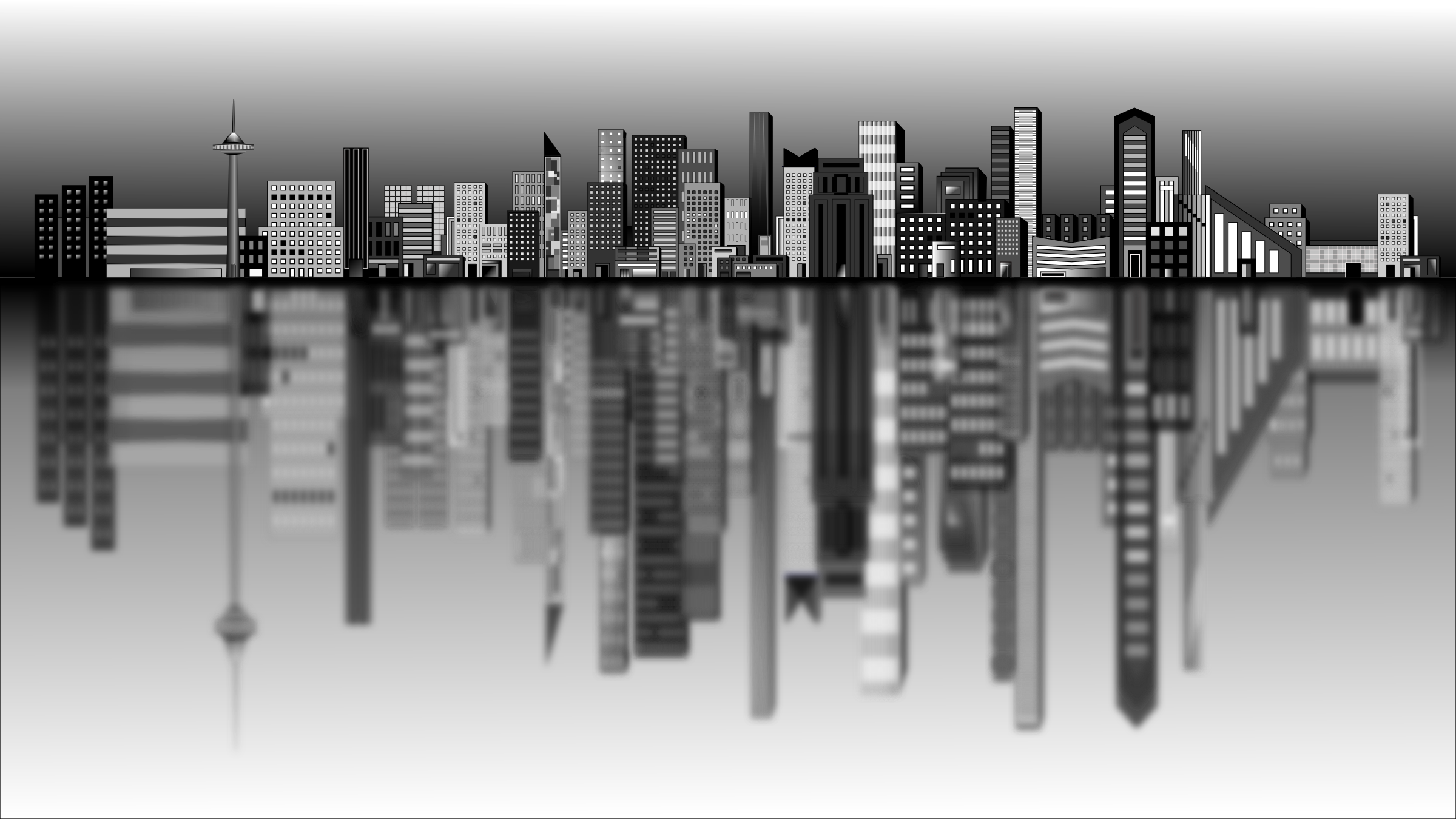 Town Background PNG - 162751