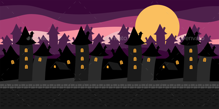 Town Background PNG - 162753