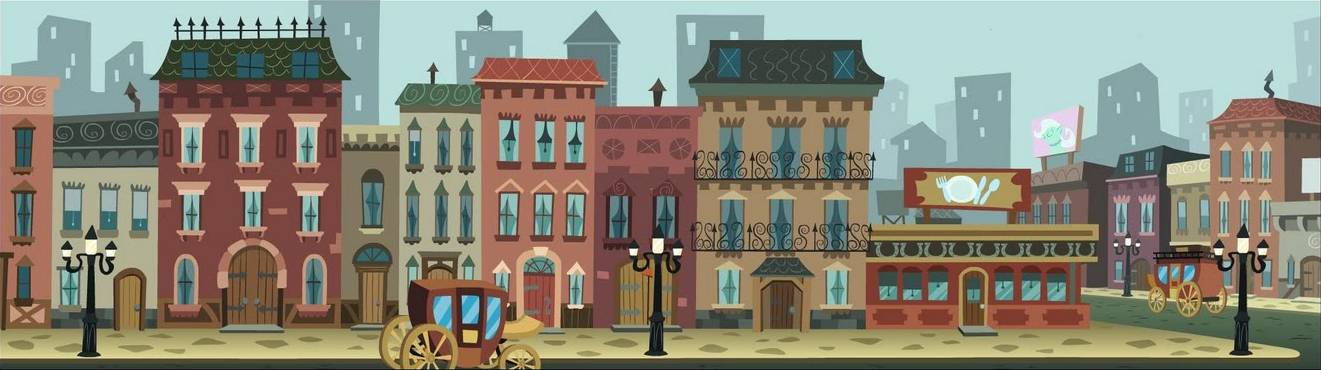 Town Background PNG - 162750