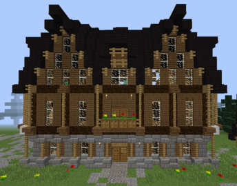 Medieval Town Council - GrabCraft - Your number one source for MineCraft  buildings, blueprints, - Town Council Building PNG