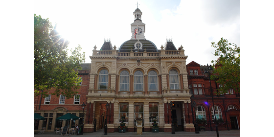 Retford Town Hall - Town Council Building PNG