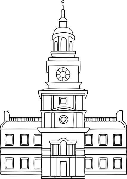 Town Council Drawing Clipart #1 - Town Council Building PNG