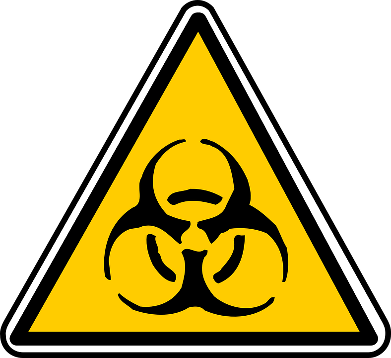 Biohazard, Sign, Symbol, Toxic, Dangerous, Biology - Toxic Sign PNG