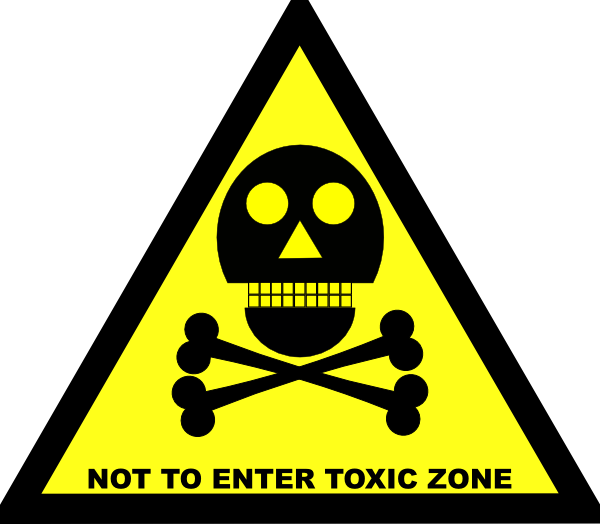 Do Not Enter Toxic Zone Sign Clip Art at Clker pluspng.com - vector clip art  online, royalty free u0026 public domain - Toxic Sign PNG