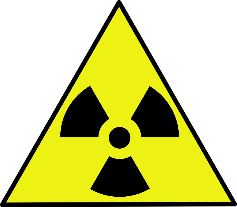 Radiation, Nuclear, Caution, Toxic, Atomic, Hazard - Toxic Sign PNG