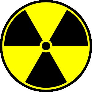 Radioactive Material Symbol Clip Art - Toxic Sign PNG