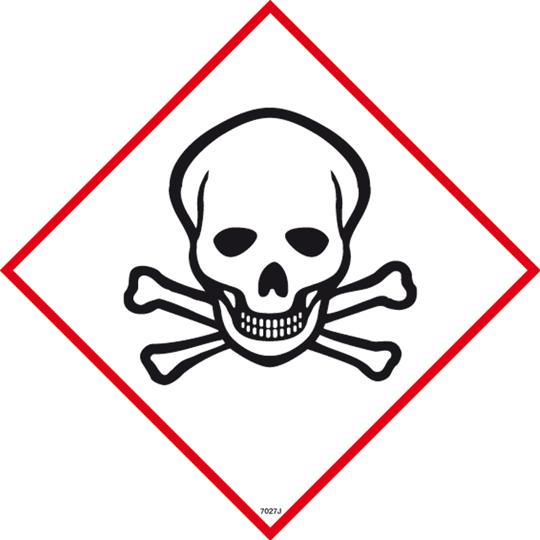 Toxic Symbol Sign - Toxic Sign PNG