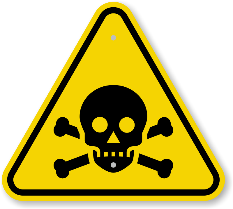 Zoom · Buy - Toxic Sign PNG