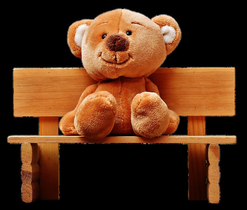teddy bank sit teddy bear bear fun plush funny - Toy Bear PNG