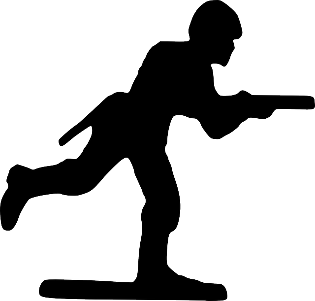 Toy Soldier PNG Black And White-PlusPNG.com-640 - Toy Soldier PNG Black And White