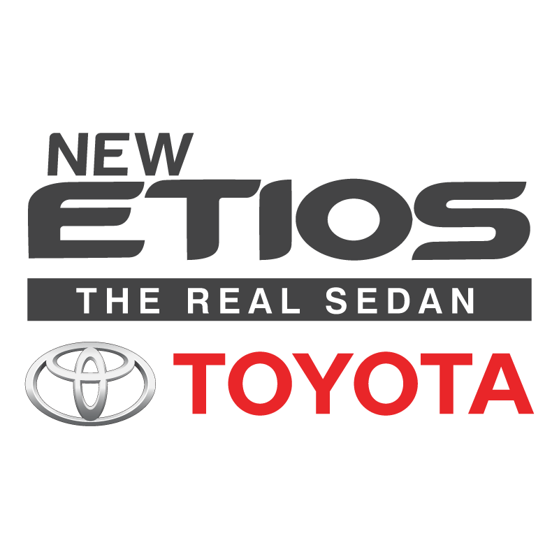 EPS. Toyota Etios logo - Toyota Altis Logo Vector PNG