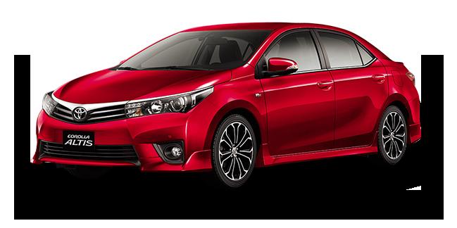 Red Mica Metallic - Toyota Altis PNG