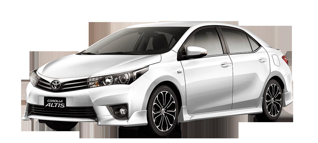 SUPER WHITE - Toyota Altis PNG