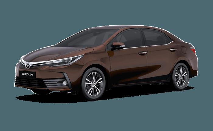 Toyota Corolla Altis Phantom Brown - Toyota Altis PNG