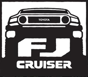 Toyota FJ Cruiser Logo. Format: EPS - Toyota Rav4 Logo Vector PNG