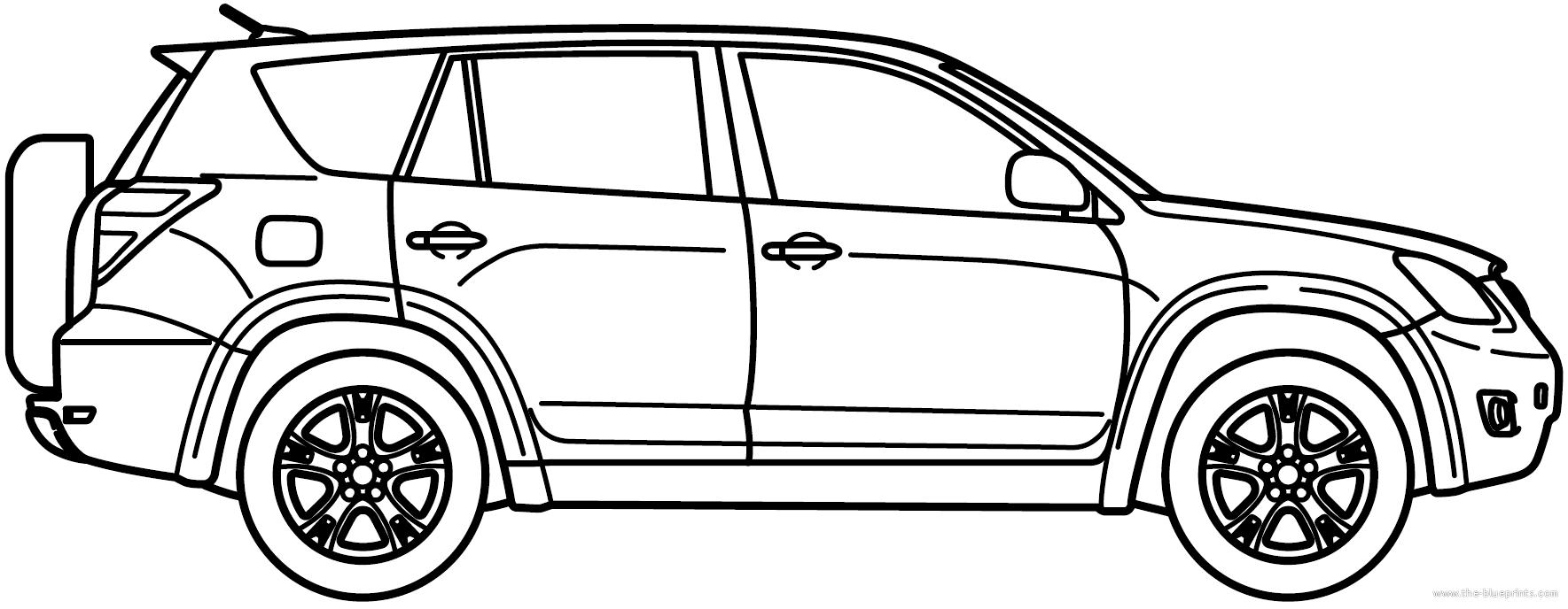 Toyota RAV4 (2010) - Toyota Rav4 Logo Vector PNG