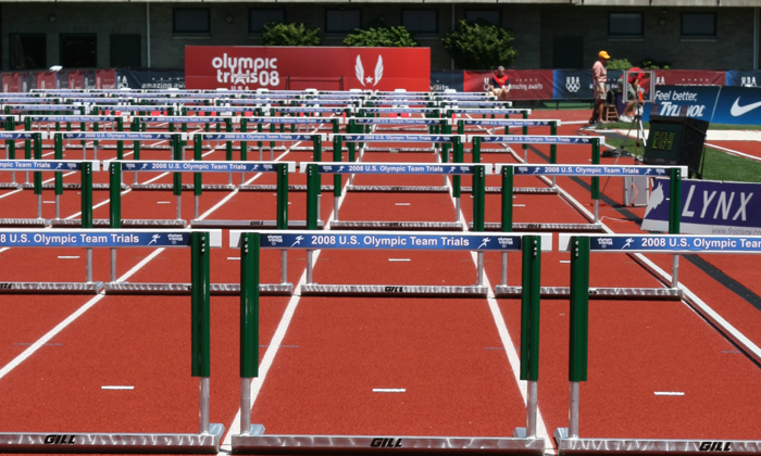 Hurdles - Track And Field PNG Hurdles