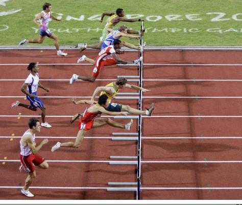 Start at a low hurdle height and work your way up based on the athletesu0027  ability. - Track And Field PNG Hurdles