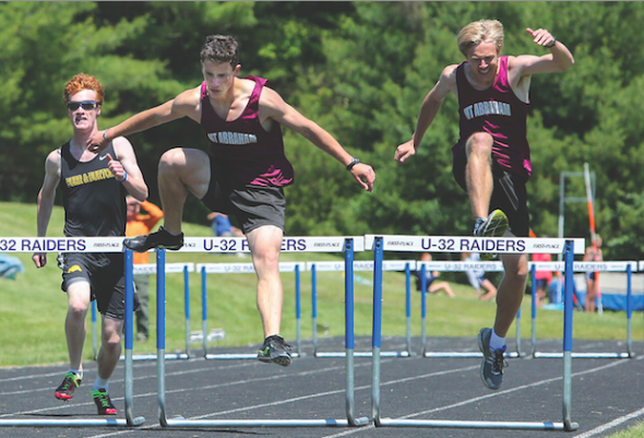 Track 6 11.png - Track And Field PNG Hurdles