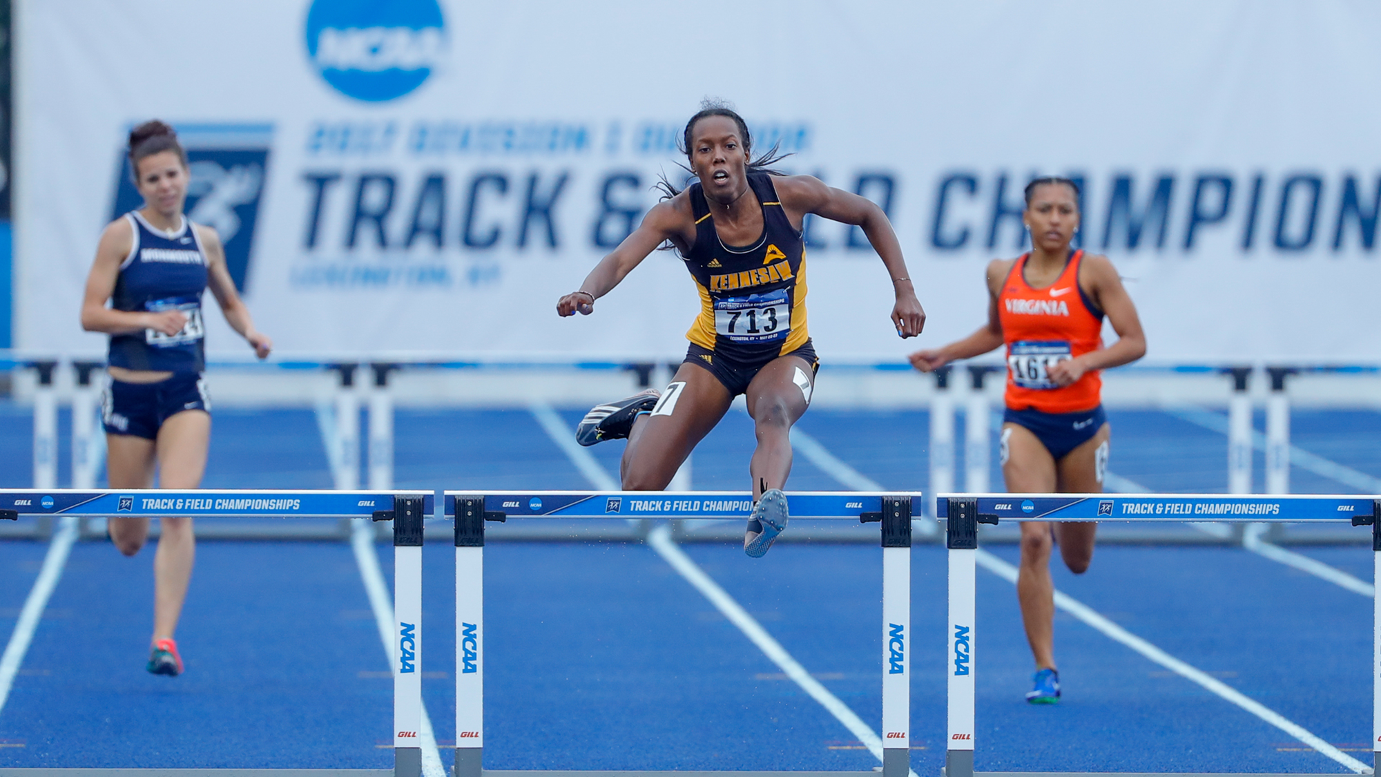 WTRK: Powell Concludes Season in 400m Hurdle Semifinals at NCAA Track and  Field Championships - Track And Field PNG Hurdles
