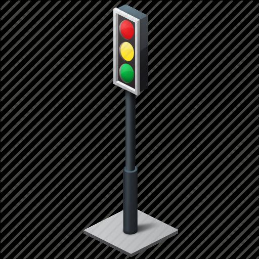 Traffic Symbol Icon Png image #5847 - Traffic Light PNG