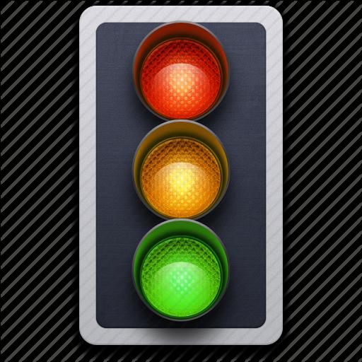 Traffic Symbol Icon Png image #5864 - Traffic Light PNG