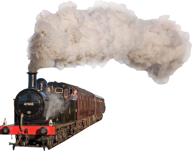 Steam Engine Train transparent image - Train HD PNG