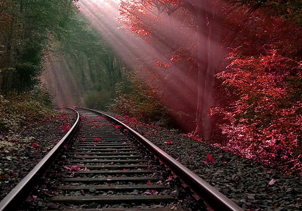 Train Track PNG HD - 121815