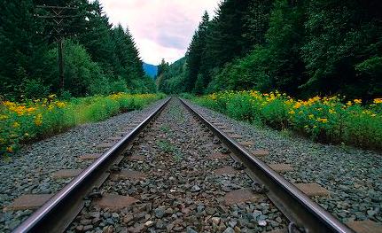 Train Track PNG HD - 121803