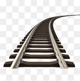 Railroad rail track, Railway, Rail, Track PNG Image - Train Track PNG HD