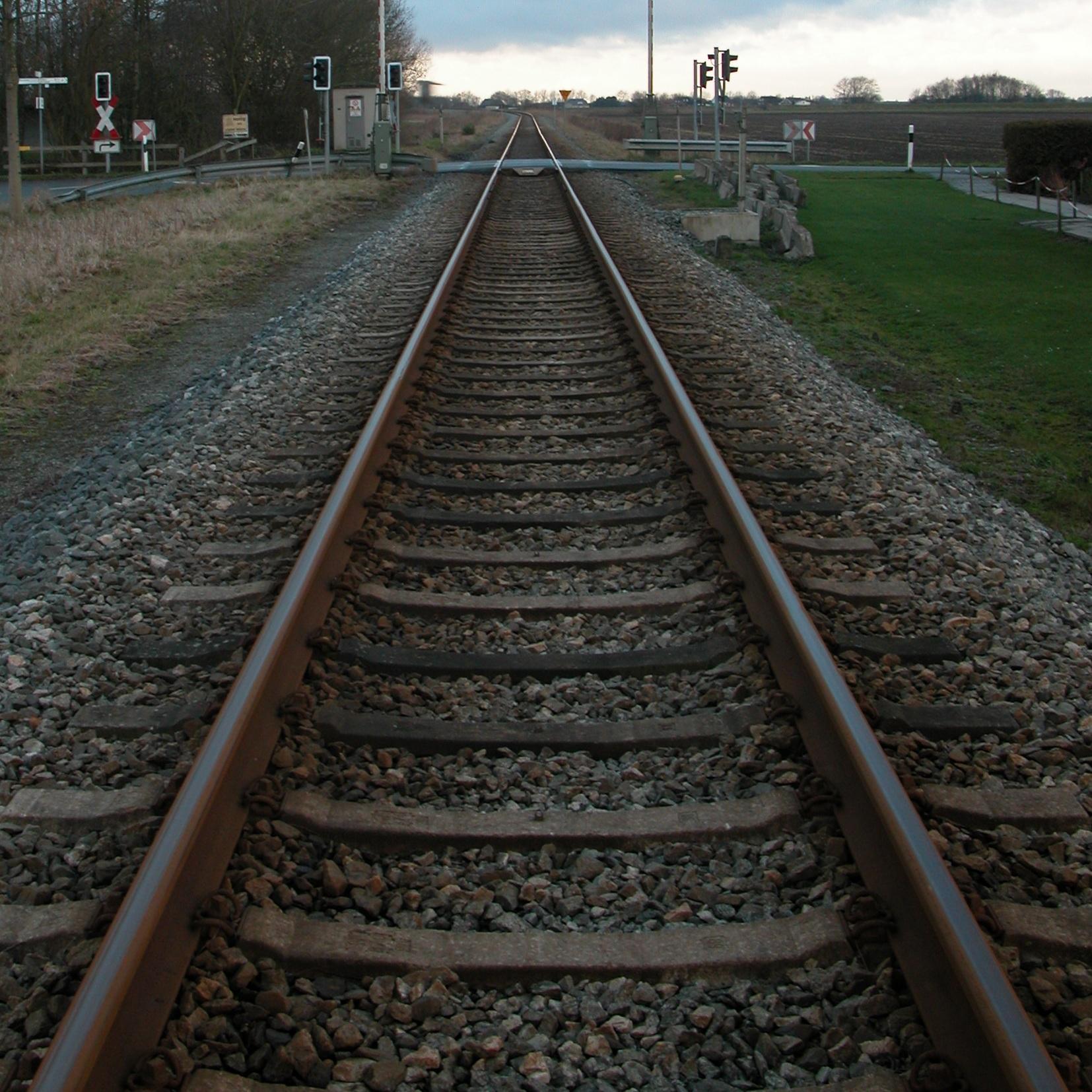 Railroad Tracks Image - Train Track PNG HD