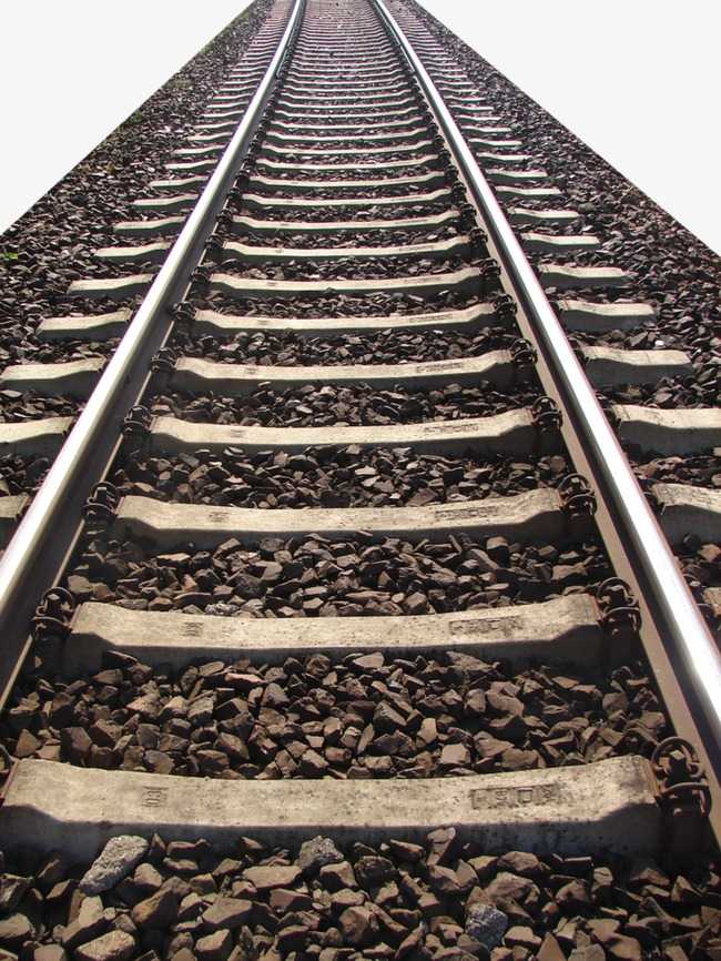 Railroad tracks, Railway, Track, Locus PNG Image - Train Track PNG HD