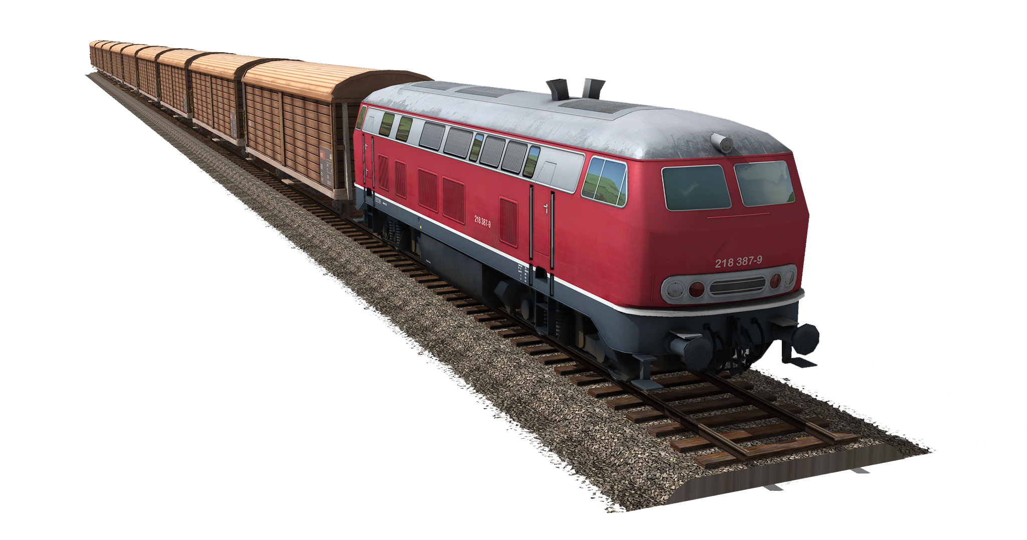 Train PNG Free Download - Train Track PNG HD