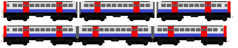 . PlusPng.com London Passenager train design 3 by JamesFan1991 - Trains PNG Side View