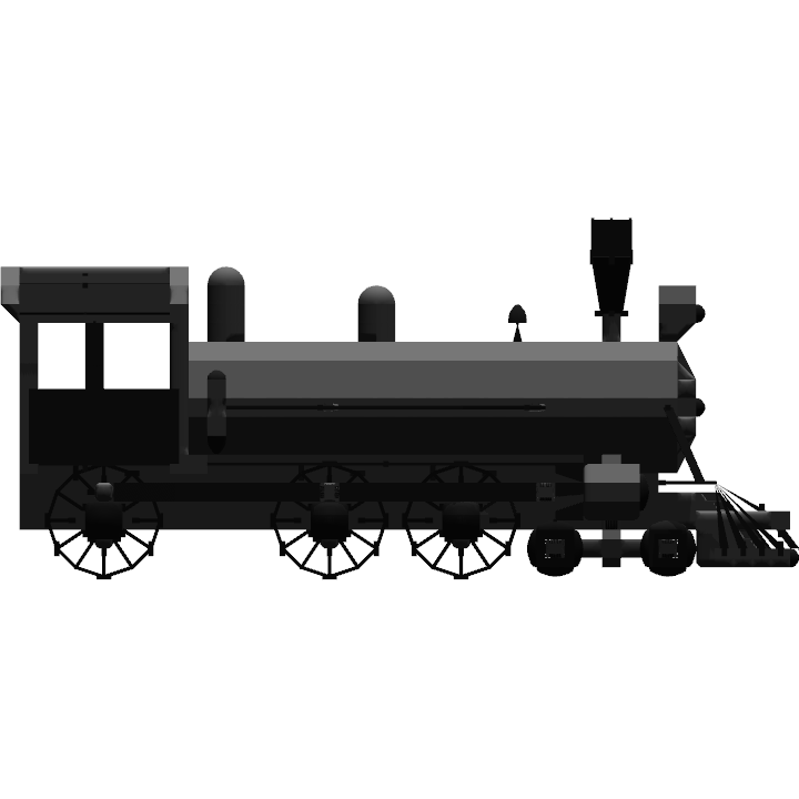 Number of Parts 1286; Control Surfaces 0 - Trains PNG Side View