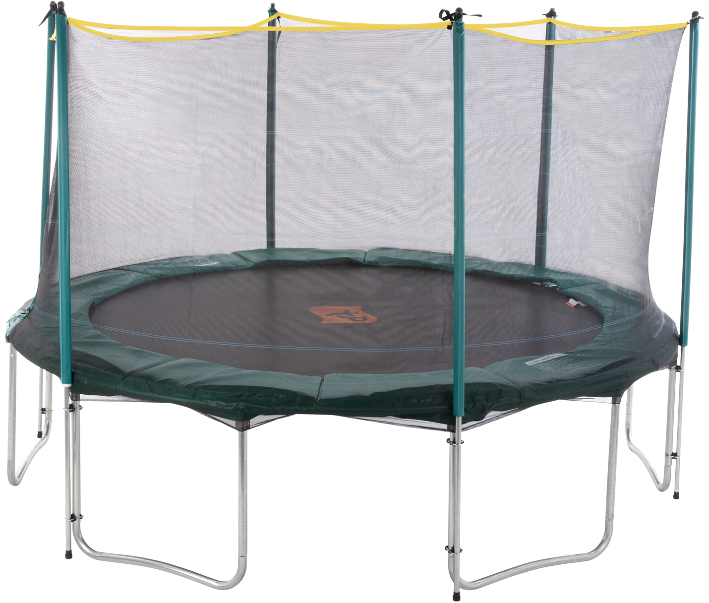 12ft 6 Legged Trampoline Enclosure - Trampoline HD PNG